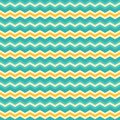 Abstract seamless background with zigzag pattern.
