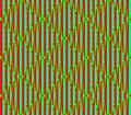 Abstract seamless blue and red and green lines and squares Royalty Free Stock Photo