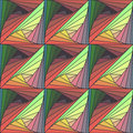 Abstract seamless colorful background with Tangle pattern Royalty Free Stock Photo