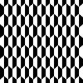 Abstract Seamless Decorative Geometric Light Black & White Pattern Background