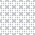 Abstract Seamless Decorative Geometric Light Gray & White Pattern Background