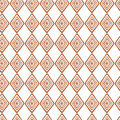 Abstract seamless ethnic pattern textures in light brown colors with rhombus