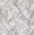 Abstract seamless feathers pattern. Stock Photos