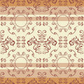 Abstract seamless floral pattern Stock Photo