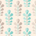Abstract seamless floral pattern eps vector illustration Stock Photography