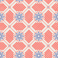 Abstract seamless geometric pattern Stock Image