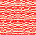 Abstract seamless geometric pattern with triangles Royalty Free Stock Photo