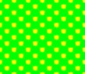 Abstract seamless green background yellow squares Royalty Free Stock Photo
