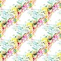 Abstract seamless grunge urban pattern with arrow, lines, graffiti, Shape textured elements, ink. Bright background