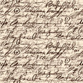 Abstract seamless hand write pattern Stock Photography