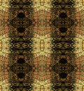 Abstract seamless pattern with brown stripes resembling snake skin Royalty Free Stock Photo