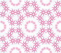 Abstract seamless pattern of a circular form.