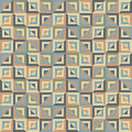 Abstract seamless pattern of colored divided square blocks Royalty Free Stock Photo