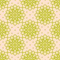 Colorful hand drawn floral seamless pattern.