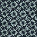 Abstract  seamless pattern of colorful stripes in shades of blue Royalty Free Stock Photo