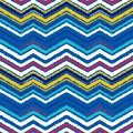 Abstract seamless pattern in ethnic style. Warm fabric.
