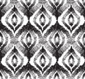 Abstract seamless pattern Floral orienal geometric line