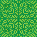 Abstract  seamless pattern green leaves Stock Photos