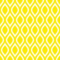 Abstract Seamless Pattern Lemons Or Waves Yellow Square