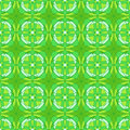 Abstract seamless pattern light green kaleidoscopic Stock Image