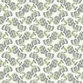Abstract seamless pattern with money vector illustration Stock Photo