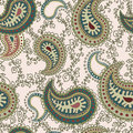 Abstract seamless pattern with paisley elements Royalty Free Stock Photos