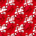Abstract seamless pattern with red watercolor splash. Abstract blood medical texture. Vector background. Royalty Free Stock Photo