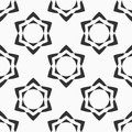 Abstract seamless pattern of six-pointed stars.