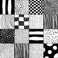 Abstract seamless pattern for textiles interior design for book design website background Stock Images