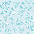 Abstract seamless pattern of three-dimensional triangles. Grunge style. The texture of the stone.