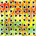 Abstract seamless pattern. Triangles drawn geometric background