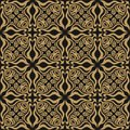 Abstract seamless pattern of wavy geometric forms. The optical distortion of the image.