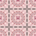 Abstract seamless pink pattern Stock Images