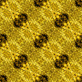Abstract seamless scalloped reptile pattern