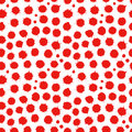 Abstract seamless spatter red pattern Royalty Free Stock Photo