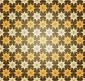 Abstract Seamless Star Pattern Stock Images