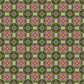 Abstract seamless texture consisting of fractal curls