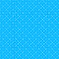 Abstract seamless white pattern over blue background