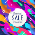 Abstract shape multicolored background Royalty Free Stock Photo