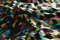 Abstract shape from triangles colorful Stock Photos