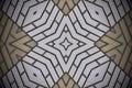 Abstract shapes bricks pattern