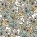 Abstract shells seamless pattern Stock Photo