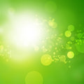 Abstract shine background bright green with place for text Royalty Free Stock Image