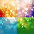 Abstract shine background colorful with bokeh Stock Images