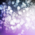 Abstract shine background purple with bokeh Royalty Free Stock Image