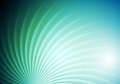 Abstract shiny swirl vector background blue green graphic brochure design Stock Photo