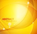 Abstract shiny vector template background yellow Stock Image