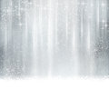 Abstract silver Christmas, winter background Royalty Free Stock Photo