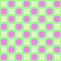 Abstract simple colorful tiled checked pattern.  Multicolor tile texture background. Seamless illustration. Royalty Free Stock Photo
