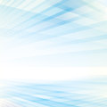 Abstract smooth light blue perspective background Royalty Free Stock Photo